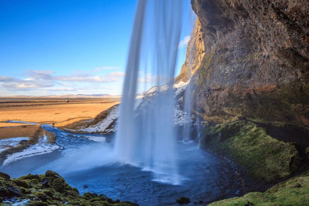 Lad firmaturen gå til storslående Island