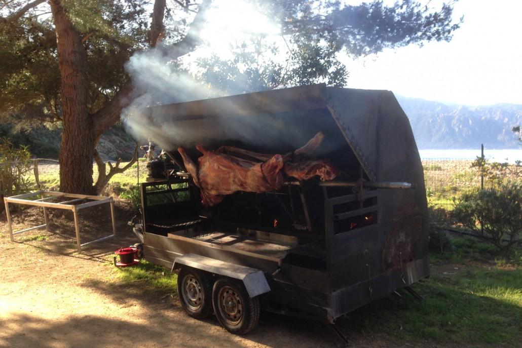 Helstegt ko på Korsika