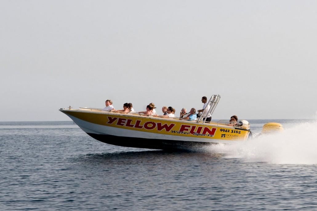 High speed boat Malta