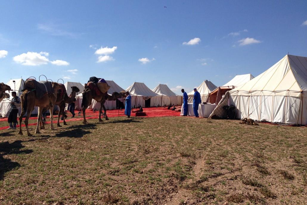 Egen privat ørken camp