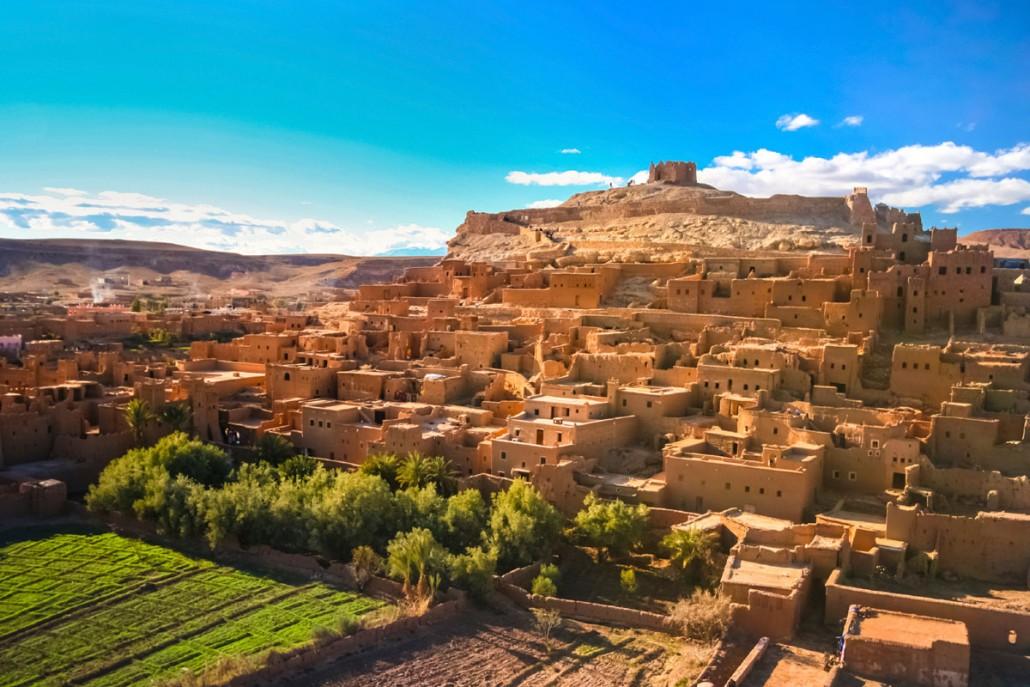 Besøg berberne i Marokko på firmaturen
