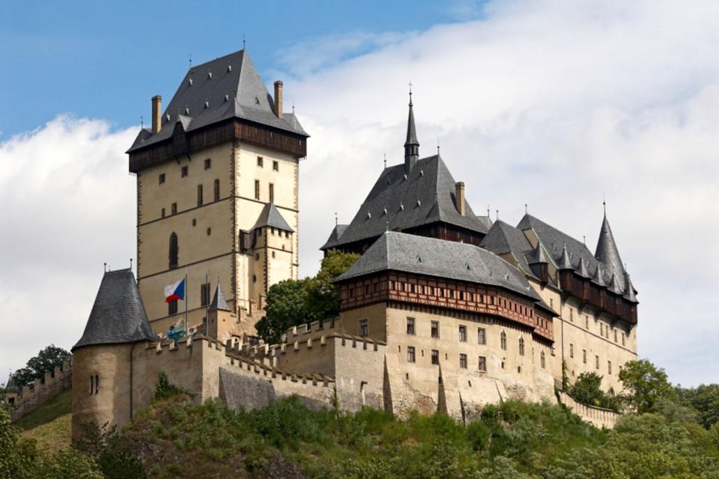 Middelalder stemning på slots hotel i Tjekkiet