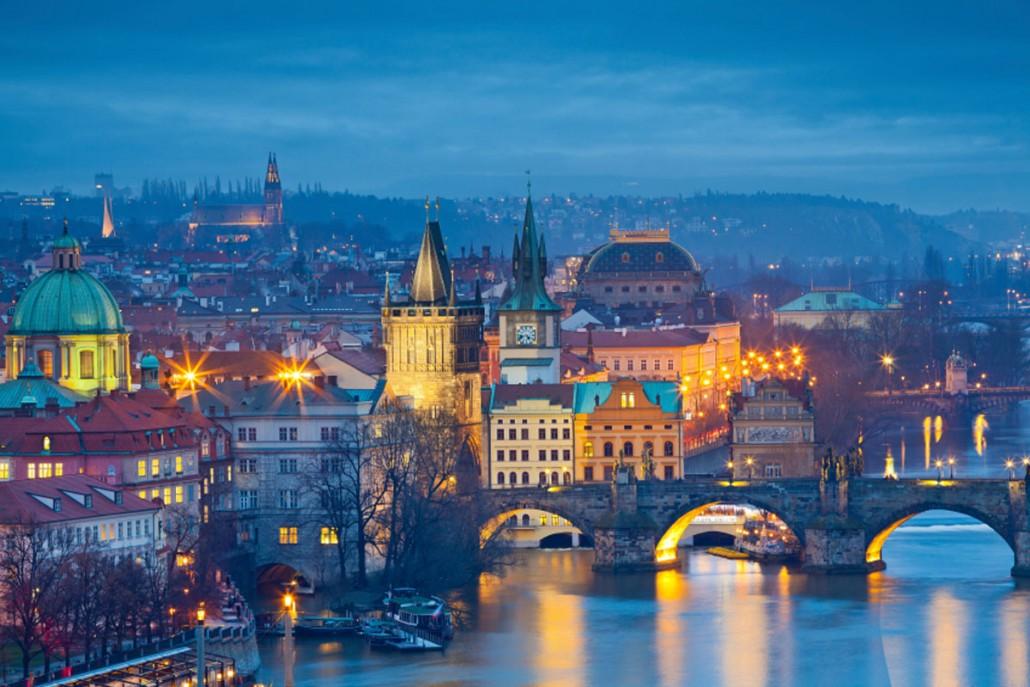 Firmaarrangement i Prag