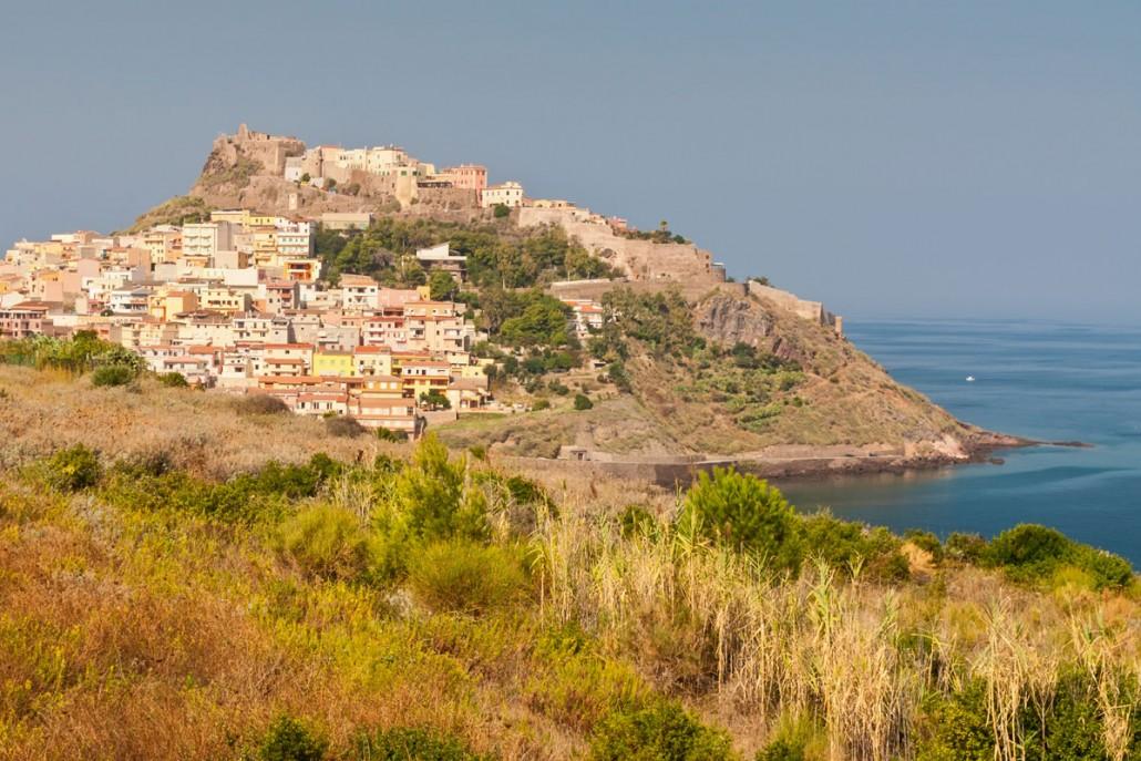 Kystby på Sardinien