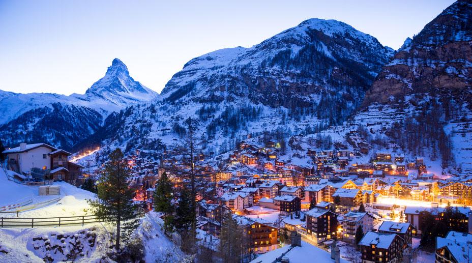 Firmarejse til de schweiziske alper