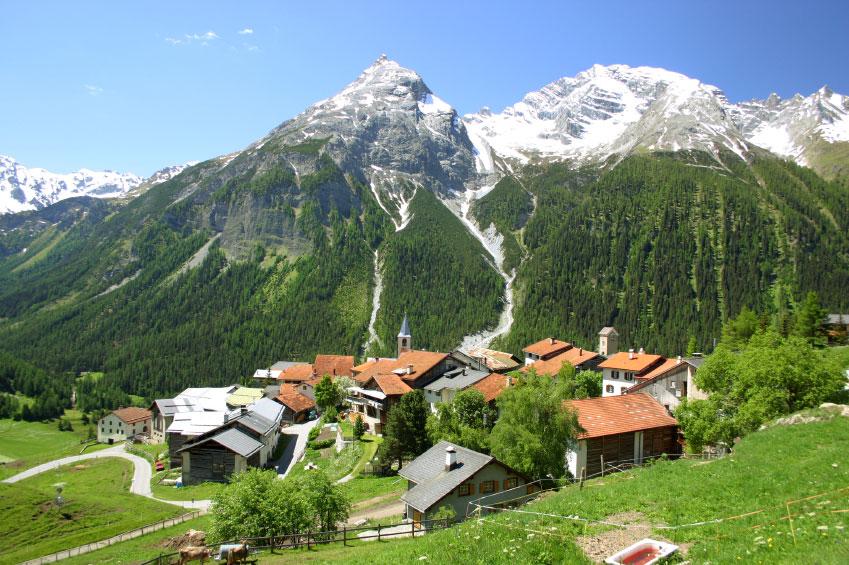 Konference i de schweiziske alper