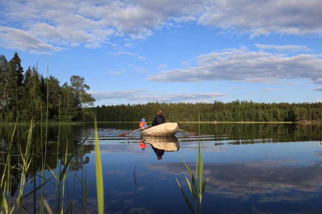 Mødeaktivitet ved en skovsø i Sverige!