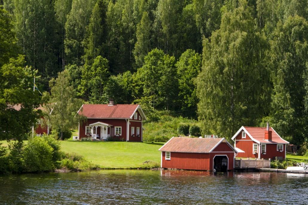 Firmatur til en svensk ødegård