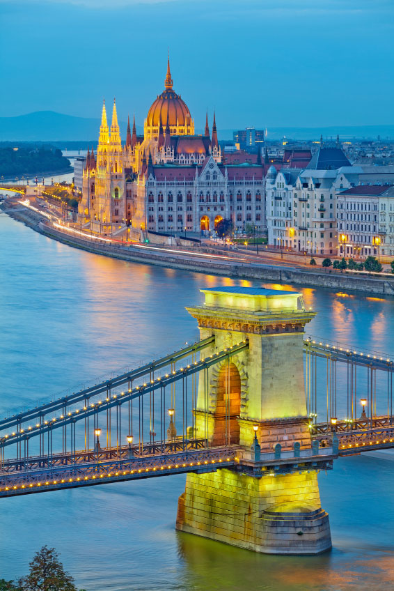Firmaarrangement i Budapest!